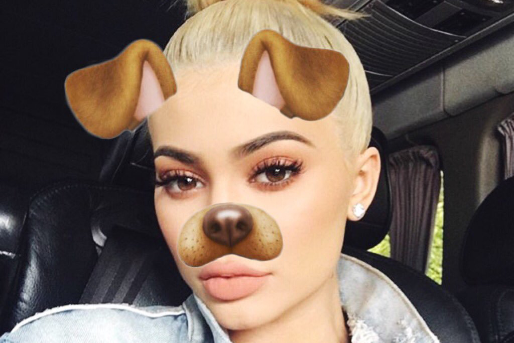 kylie jenner snapchat music
