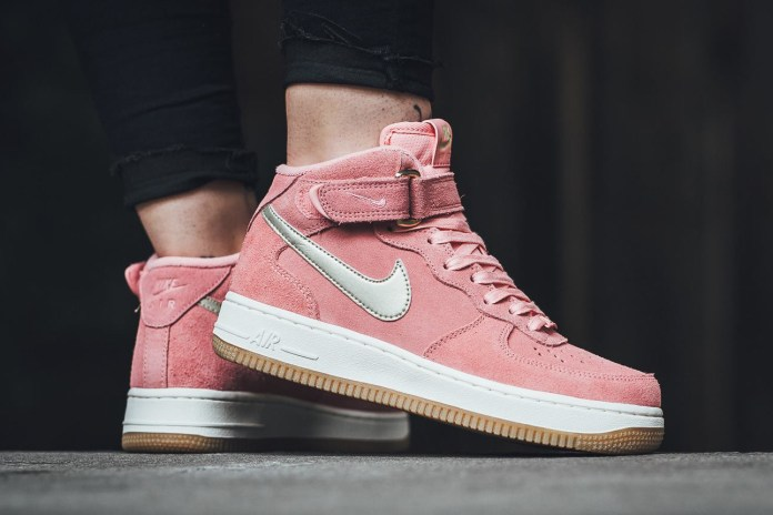 Fall in Love with This Pastel Pink Nike Air Force 1 '07 Mid