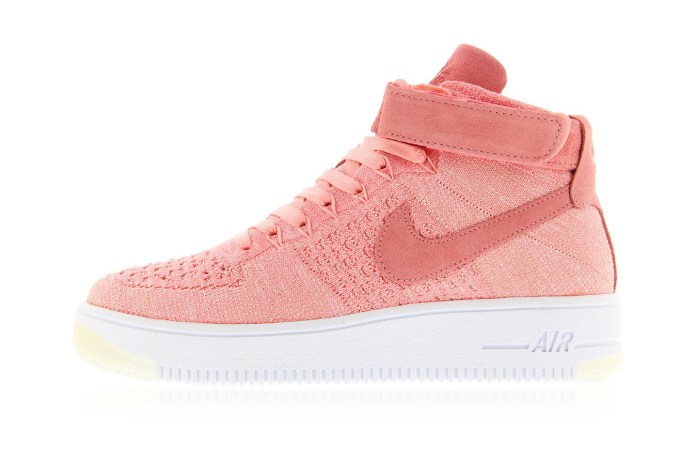 Nike's Latest Air Force 1 Flyknit Gets Dipped in Peachy Pink