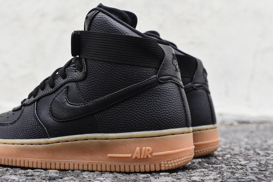 Nike Air Force 1 SE Black Maroon