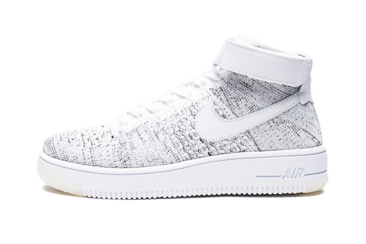 Nike Air Force 1 Ultra Flyknit Mid White Speckled