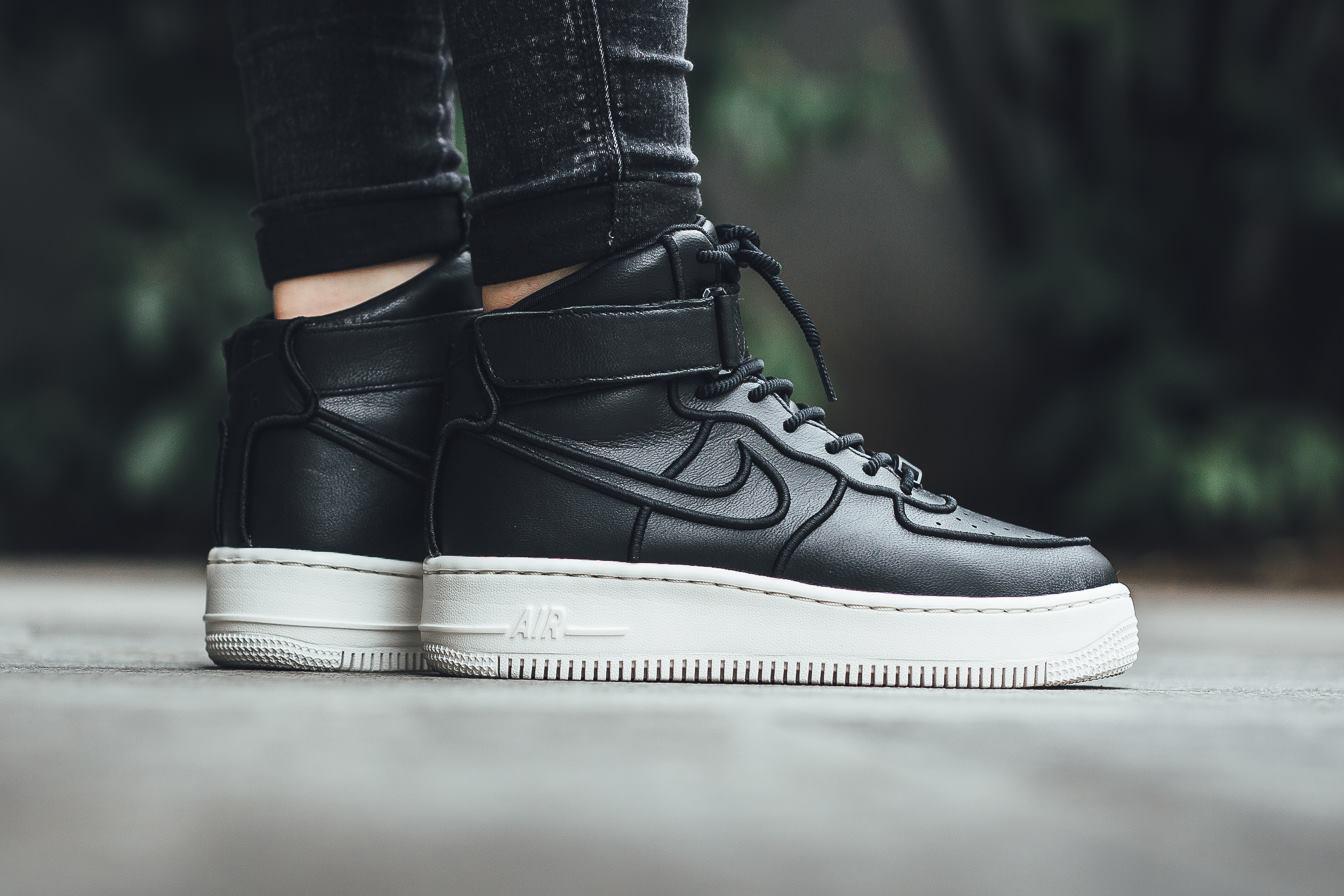 Nike Air Force 1 Upstep High Black Ivory