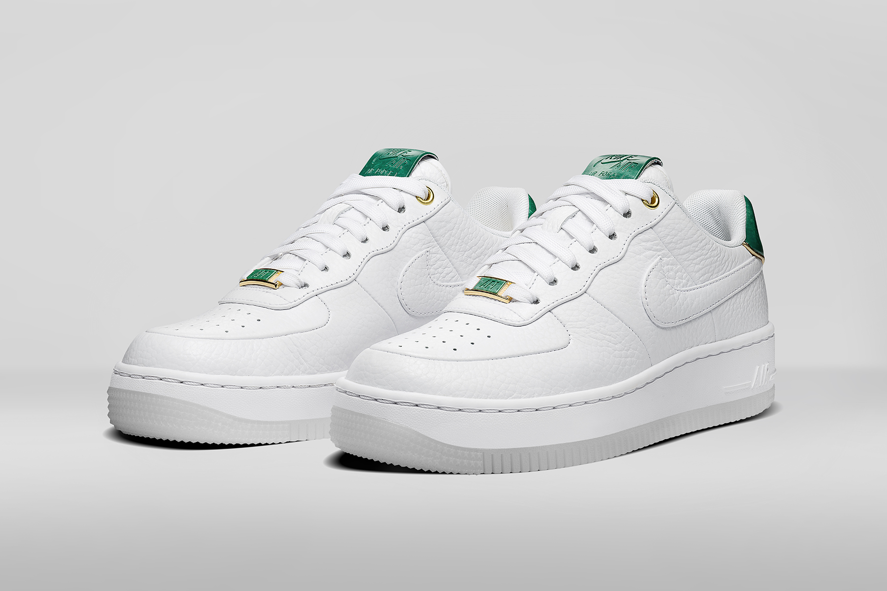 Nike Air Force 1 Upstep NAI KE JADE - 78009