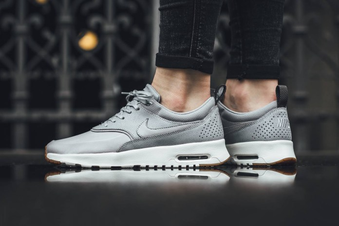"The Nike Air Max Thea Premium ""Wolf Grey"" Is a Neutral Beaut"