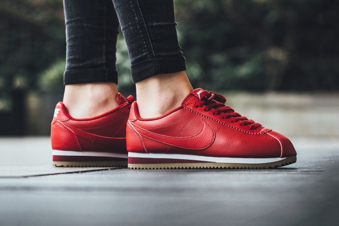 The Latest Nike Classic Cortez Is Nothing But Fiery Red
