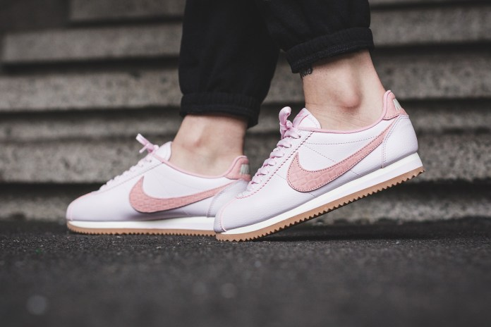 This Nike Classic Cortez Is Pink Like a Ballet Slipper