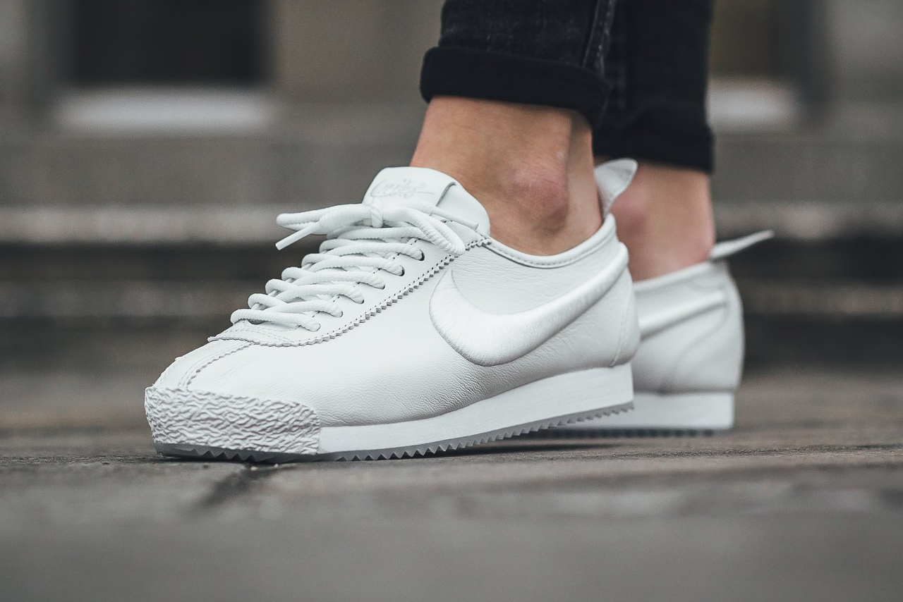 Nike Presents Cortez 72 in Black/Ivory and White/Blue Tint
