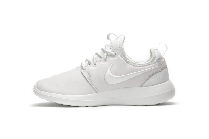 "This ""Triple White"" Nike Roshe Two Is Clean AF"