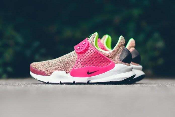 """The Nike Sock Dart SE """"Hot Punch"""" Is an Electric Color Explosion"""