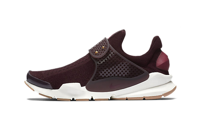 Nike's Latest Sock Dart Collection Includes a Dark Maroon Beaut