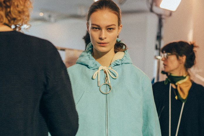 Go Backstage for OFF-WHITE's 2017 Fall/Winter Show at Paris Fashion Week