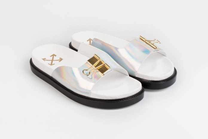 OFF-WHITE's Binder Clip Sandal Will Be a Must-Cop Come Summer