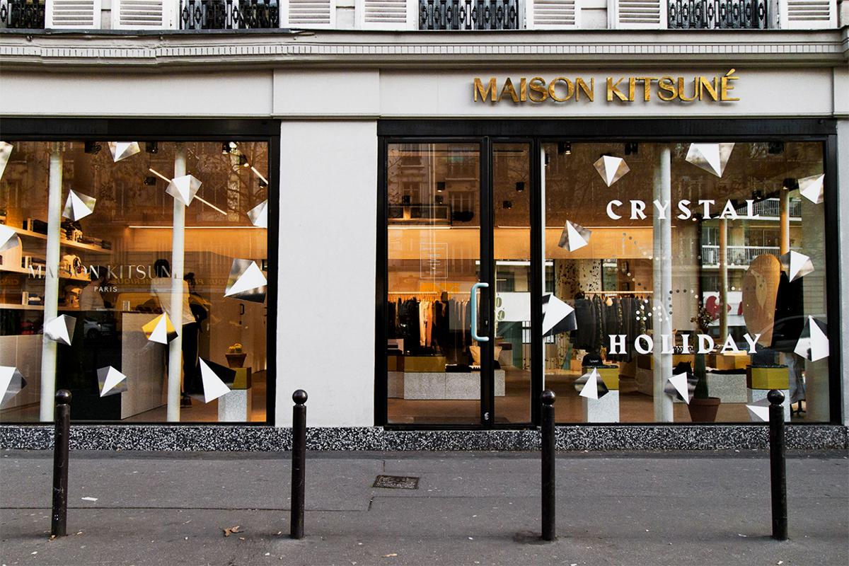 Paris Best Women Streetwear Shop colette Maison Kitsune