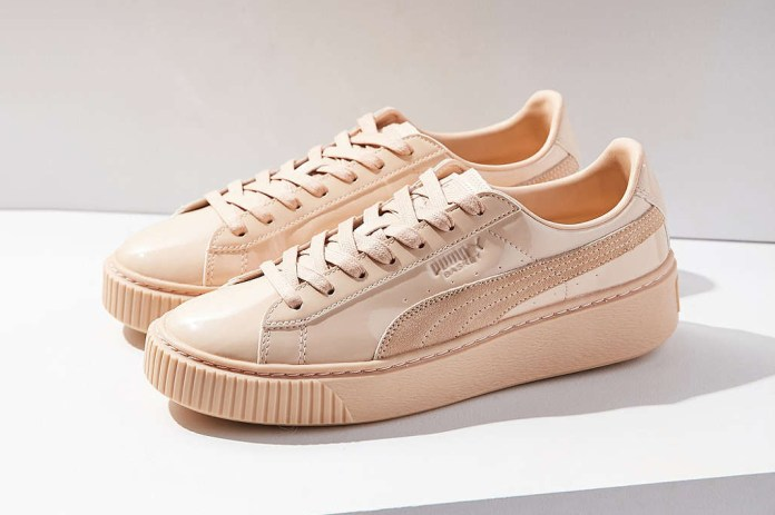 PUMA Blankets the Basket Platform in Pastel Patent Leather