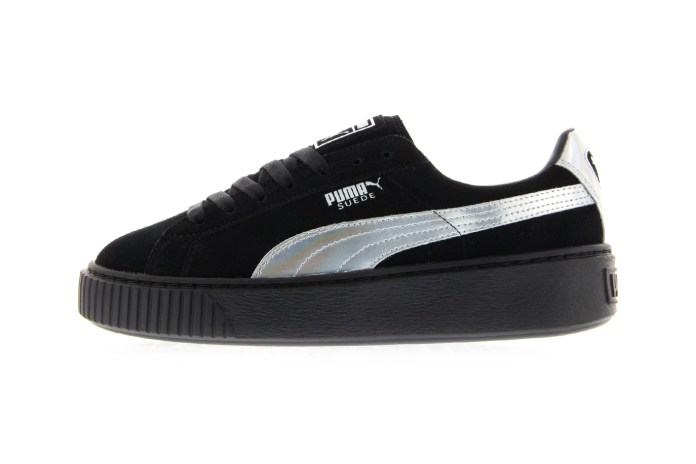 "PUMA's Suede Platform ""Iridescent"" Is Like the Bad Gal Creeper We Never Had"