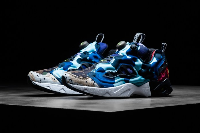The Camo Craze Hits Its Peak on Reebok's Instapump Fury Road CC