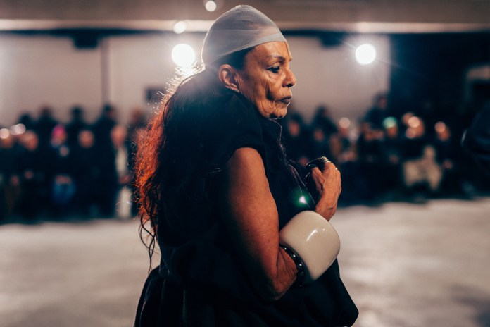 Here's a Front-Row Look at Rick Owens' 2017 Paris Fashion Show