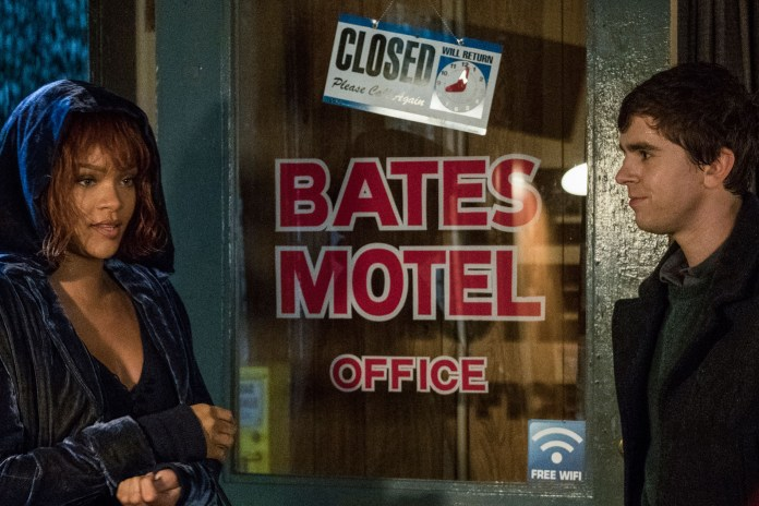 Here's a First Look at Rihanna as Marion Crane in 'Bates Motel'