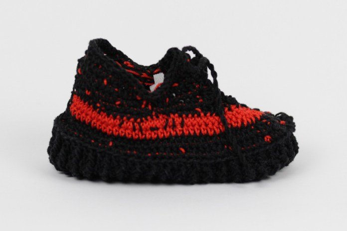 Romeo Babe's Knitted Baby Bootie Versions of the YEEZY and NMD — and They're Incredibly Adorable