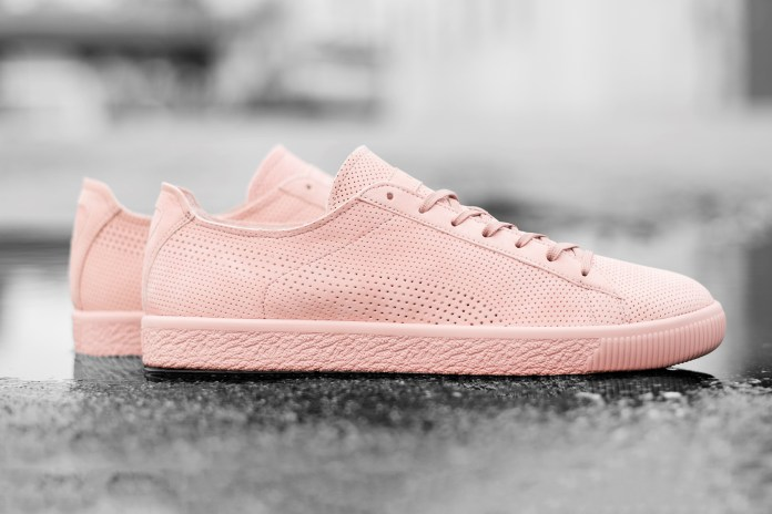 Stampd x PUMA's Clyde Is a Fresh Breath of Pink