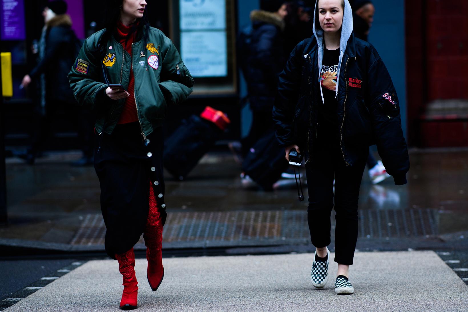 Women's Streetsnaps London Fashion Week Men's January 2017 - 79176