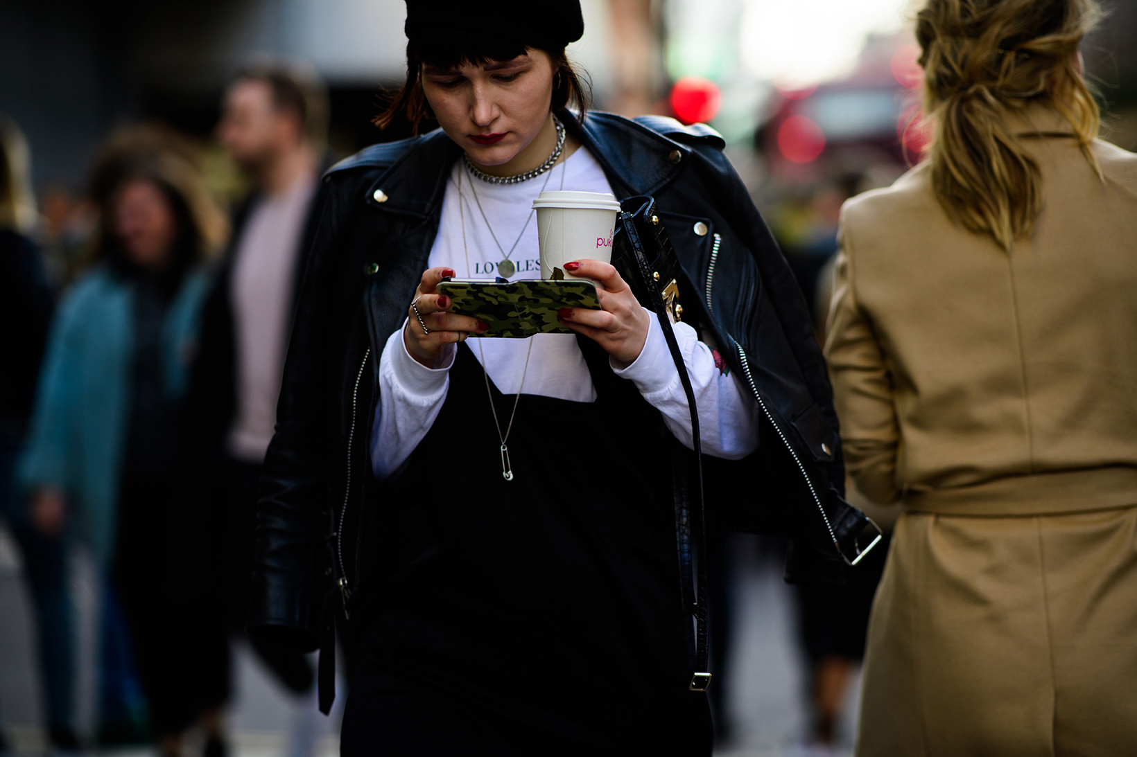 Women's Streetsnaps London Fashion Week Men's January 2017 - 79178