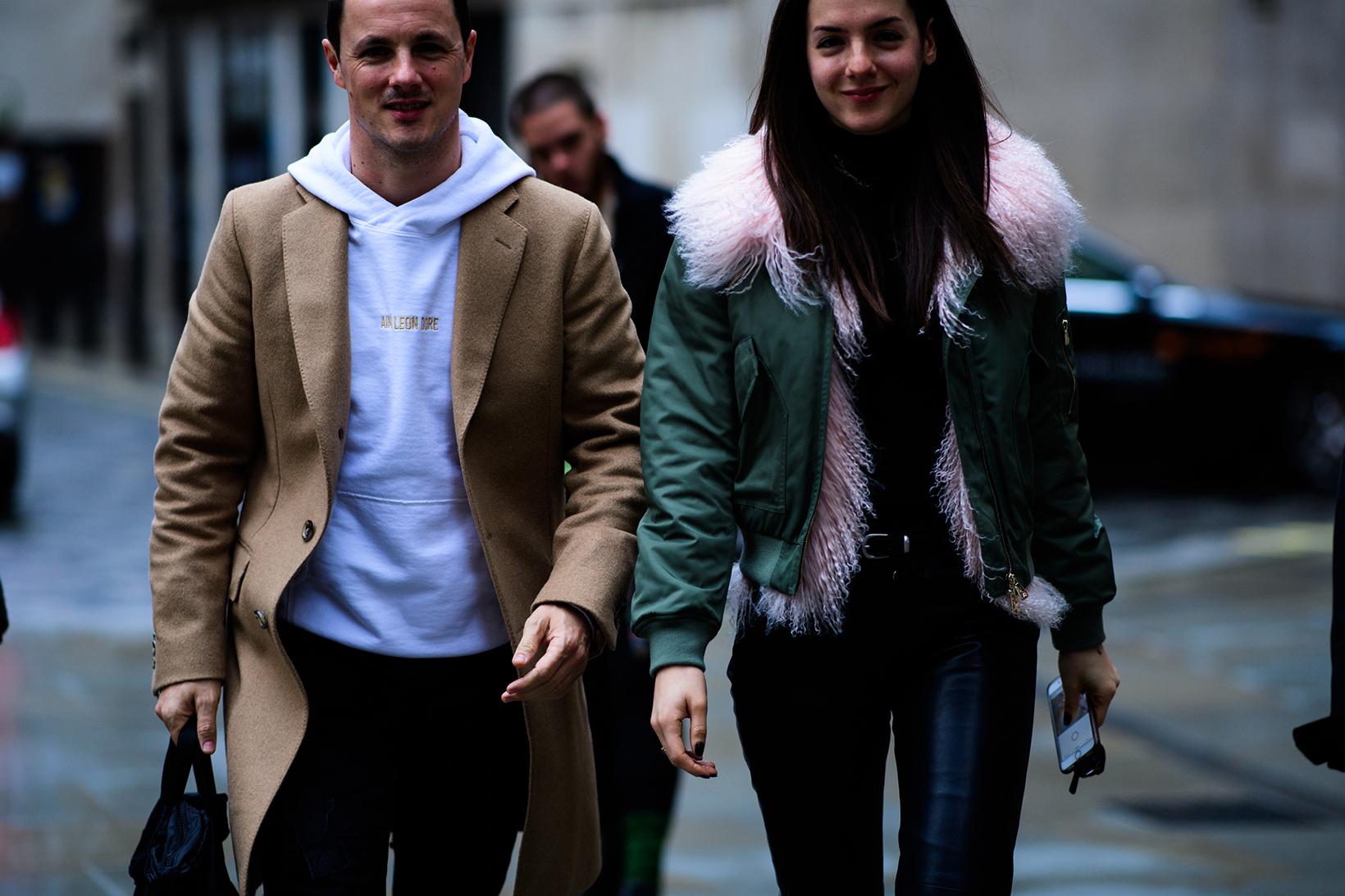 Women's Streetsnaps London Fashion Week Men's January 2017