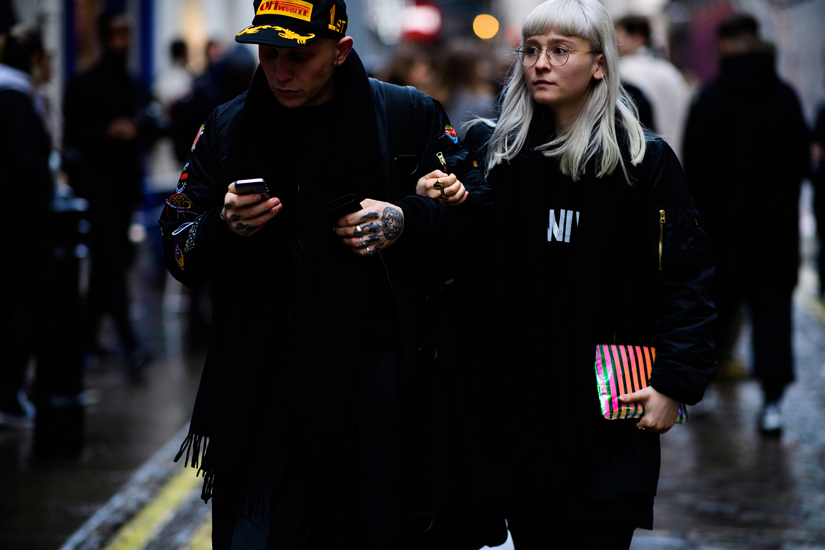 Women's Streetsnaps London Fashion Week Men's January 2017 - 79187