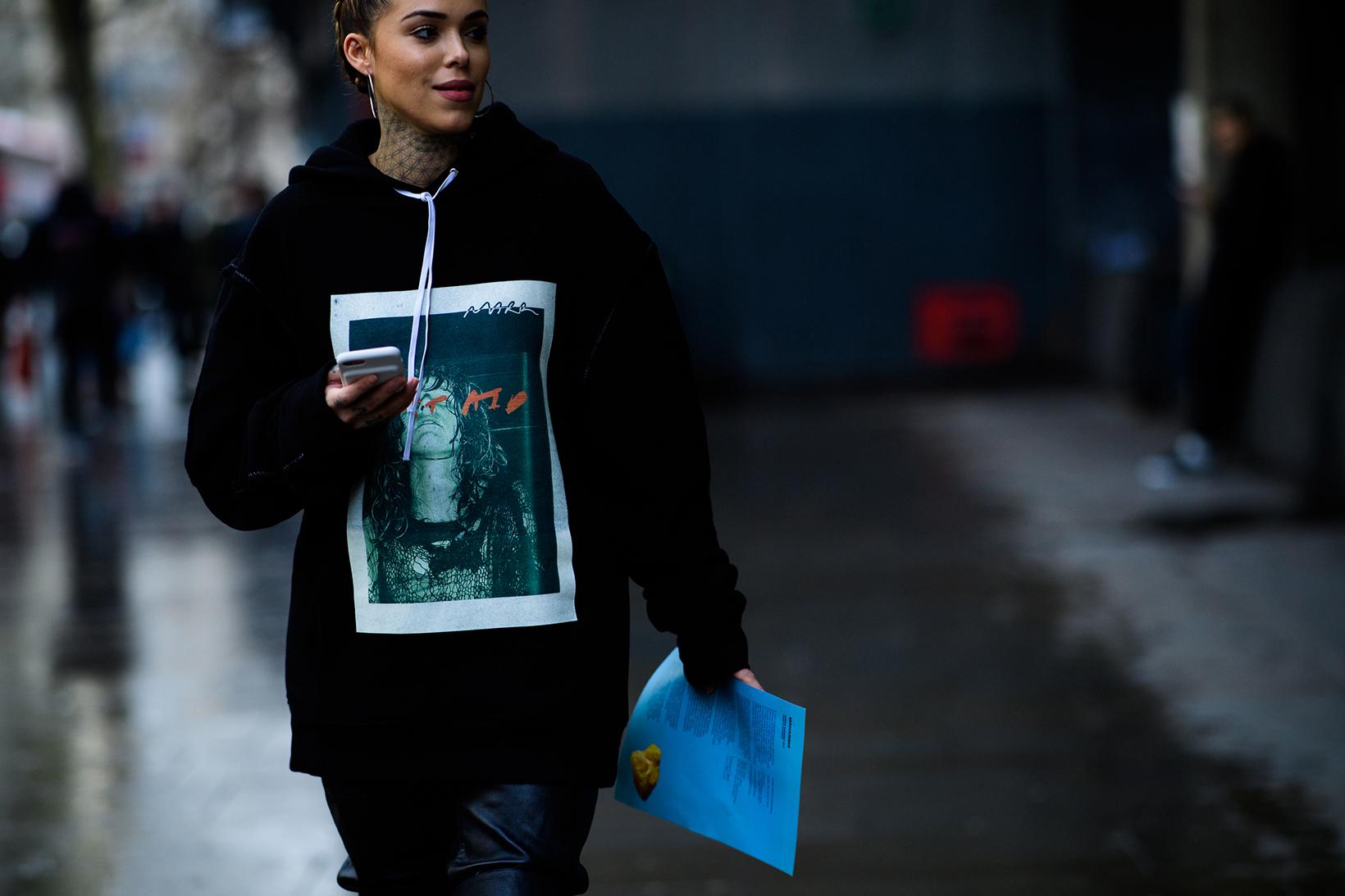 Women's Streetsnaps London Fashion Week Men's January 2017 - 79190