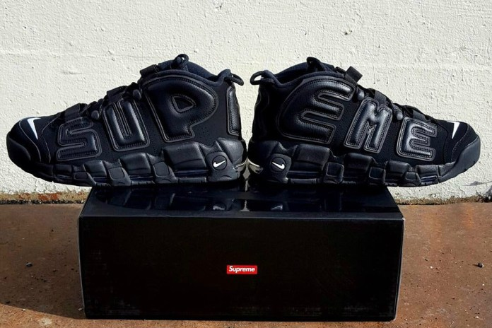 """Here's a Possible First Look at the Supreme x Nike Air More Uptempo """"Suptempo"""""""