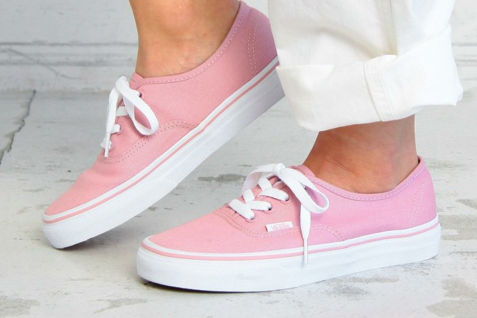 Vans' Authentic Pastel Pack Is a Simple But Pretty Look at Sneakers