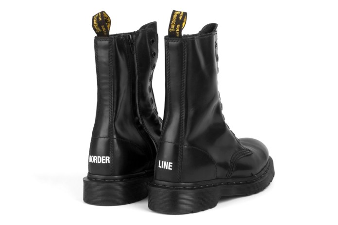 Vetements and Dr. Martens' Collaborated Leather Boot Is Nothing Like We'd Expect