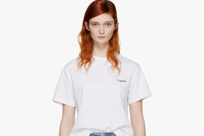 "Vetements Is Literally Selling a Hanes ""T-Shirt"" for $120 USD"