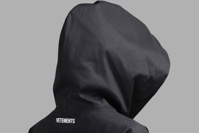 Vetements' Surprisingly Minimal – and Practical – Raincoat Is Now Available