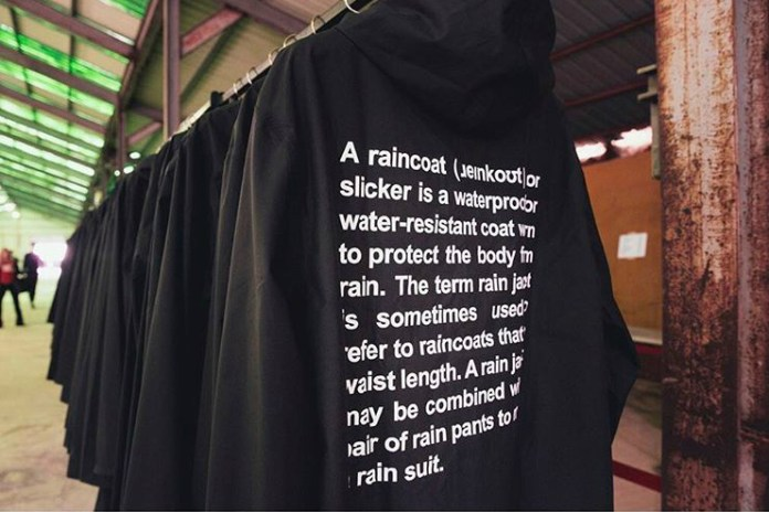 "Here's Where You Can Cop Vetement's Exclusive ""Official Fake"" Raincoat"