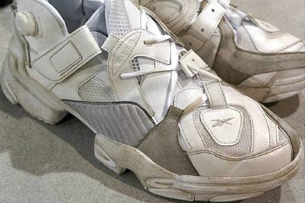 The New Vetements x Reebok Looks Like That One White Sneaker You've Worn to Death