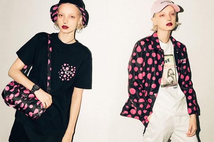 Enter Polka Dot Paradise with X-Girl's New Collection with Yayoi Kusama