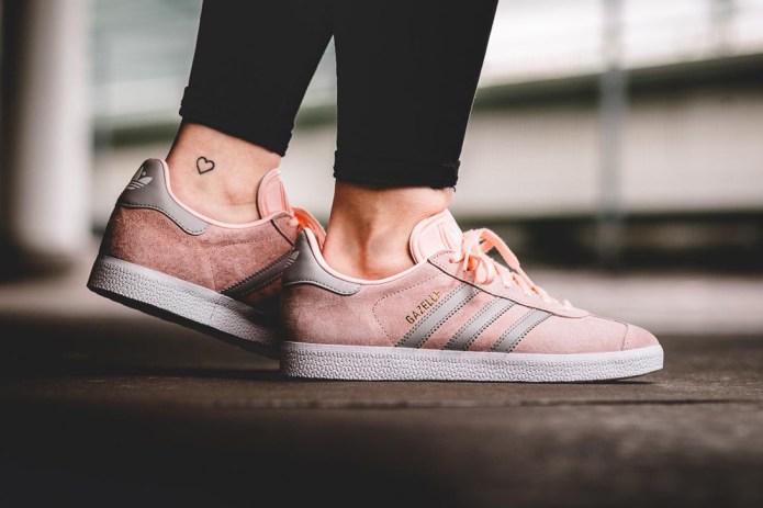 Step into a Pink Haze in This adidas Originals Gazelle