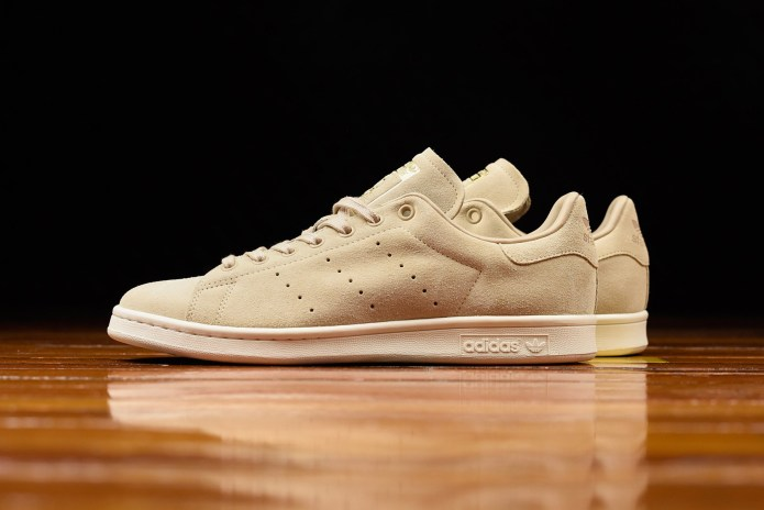 The adidas Originals Stan Smith Gets Sandy in Suede
