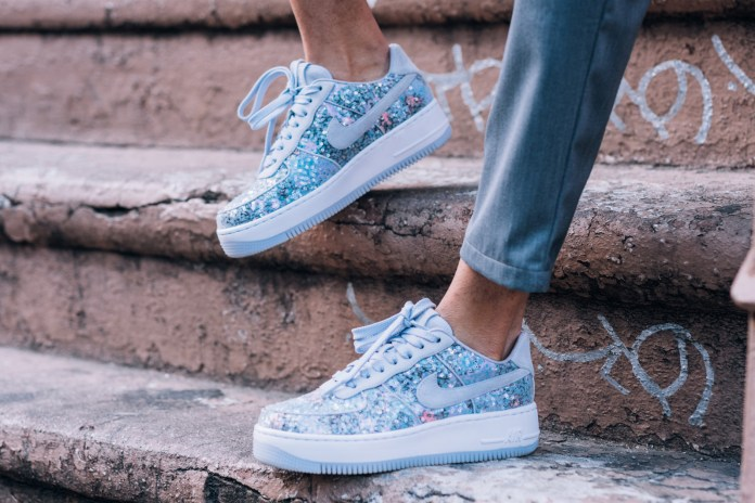 Nike's Air Force 1 Upstep Low Gets a Fairytale Cinderella Moment