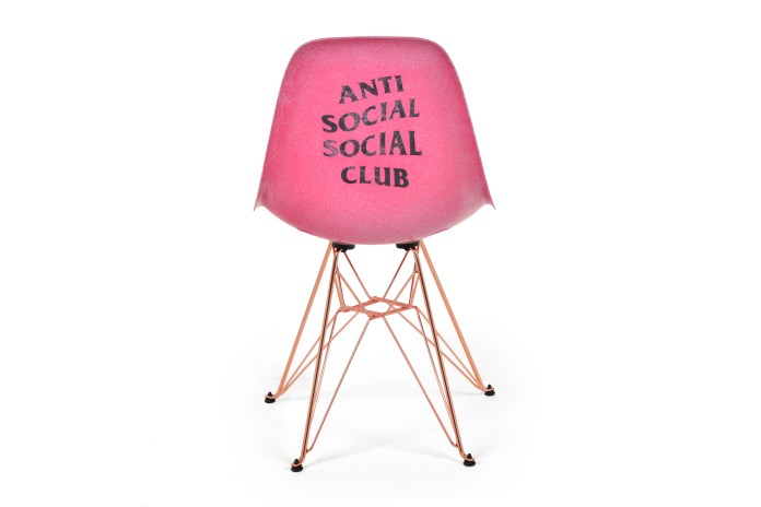 Anti Social Social Club Is Dropping a Chair That Looks Like It Came Straight From Barbie's Dreamhouse