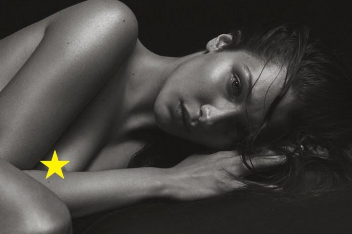 Bella Hadid Is Totally Bare in Mario Sorrenti's Nude Shoot