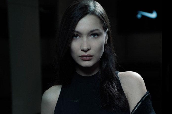 Bella Hadid Takes Us Behind the Scenes of Her Riccardo Tisci x NikeLab Campaign