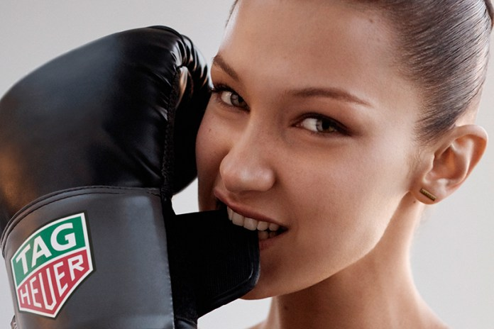Bella Hadid Is Now the Face of Luxury Watch Brand TAG Heuer
