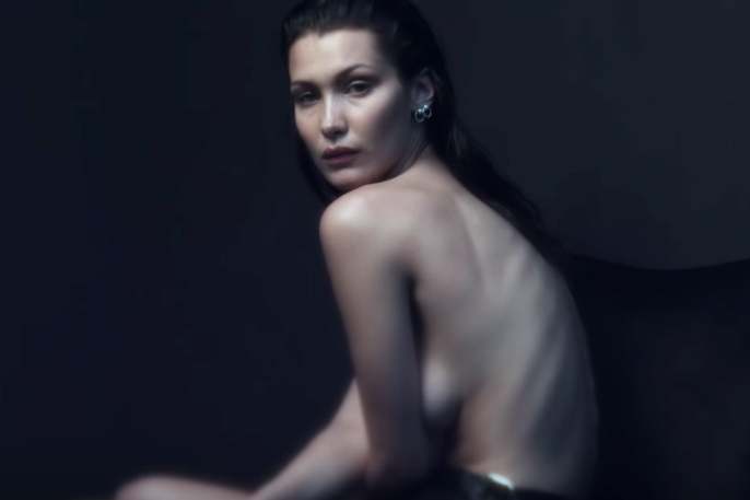 Go Behind-the-Scenes at Bella Hadid's NSFW Shoot for 'V' Magazine