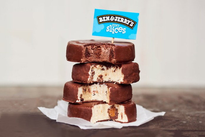 We're Drooling Over Ben & Jerry's Brand New Pint Slices