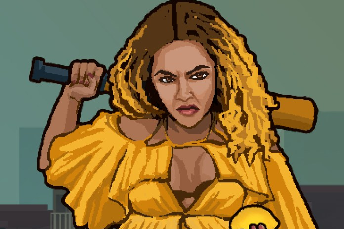 """Relive Beyoncé's """"Hold Up"""" Music Video with the 8-Bit 'Lemonade Rage' Video Game"""