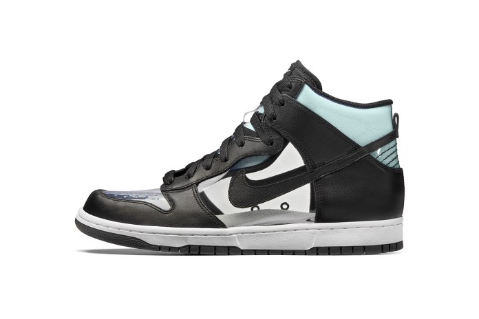This COMME des GARÇONS x NikeLab Dunk Hi Gets on the Clear Shoe Trend