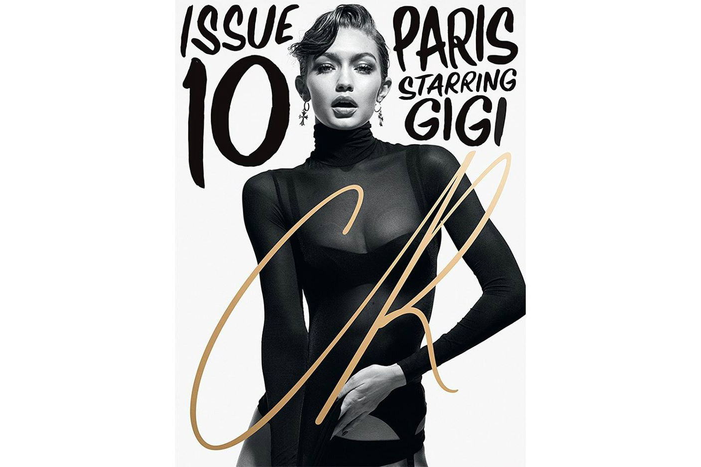 Gigi Bella Hadid CR Fashion Book Issue 10 Covers