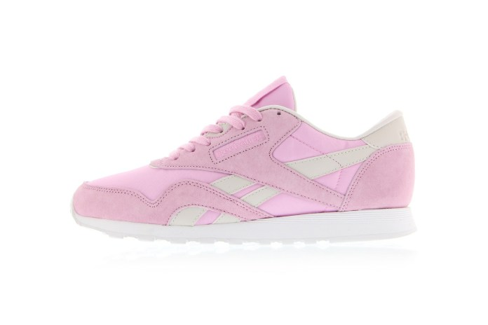 The New FACE Stockholm x Reebok Classic Nylon Is Pink-ed Out
